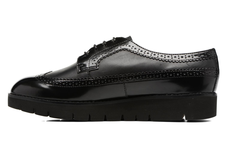 Lace-up shoes Geox D BLENDA C D540BC Black front view