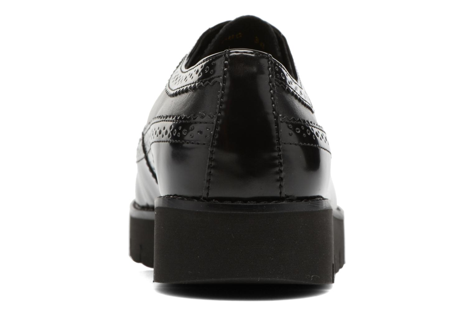 Lace-up shoes Geox D BLENDA C D540BC Black view from the right