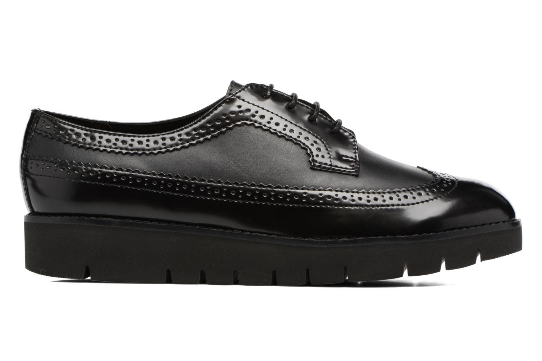 Lace-up shoes Geox D BLENDA C D540BC Black back view