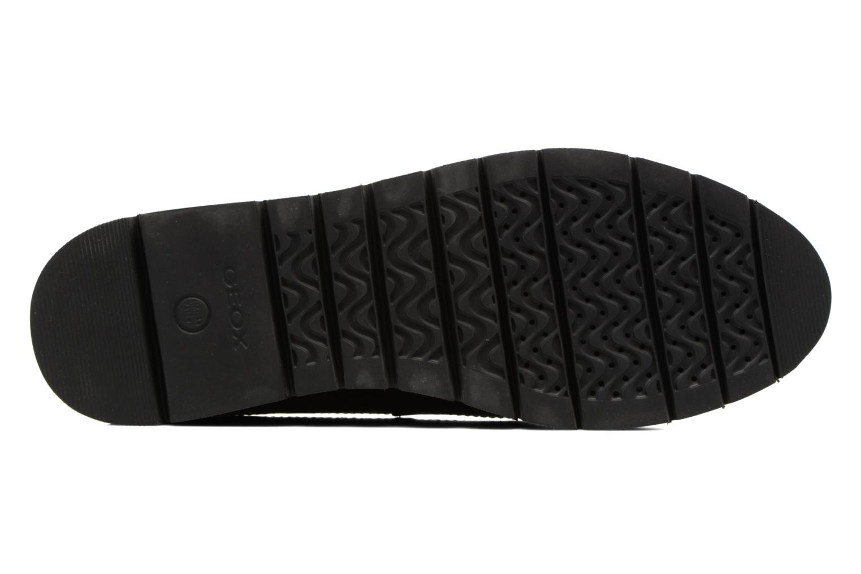 Chaussures à lacets Geox D BLENDA C D540BC Noir vue haut