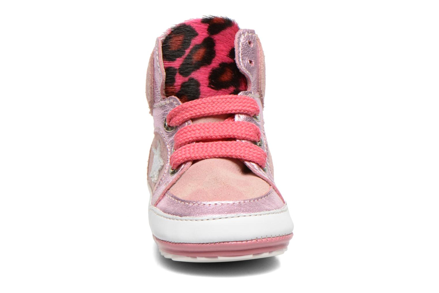 Trainers Shoesme Silvia Pink model view