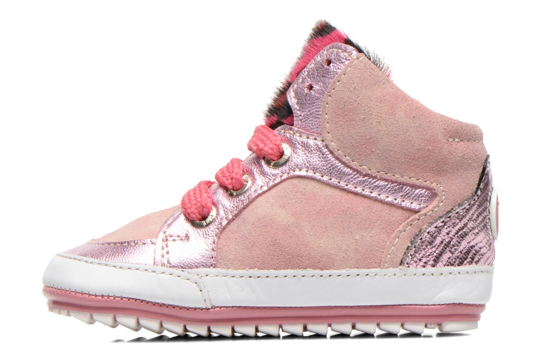 Sneaker Shoesme Silvia rosa ansicht von vorne