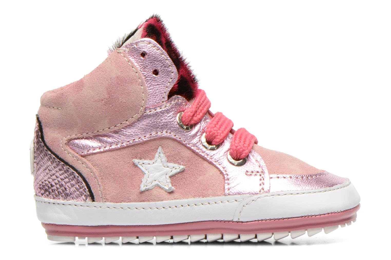 Sneaker Shoesme Silvia rosa ansicht von hinten