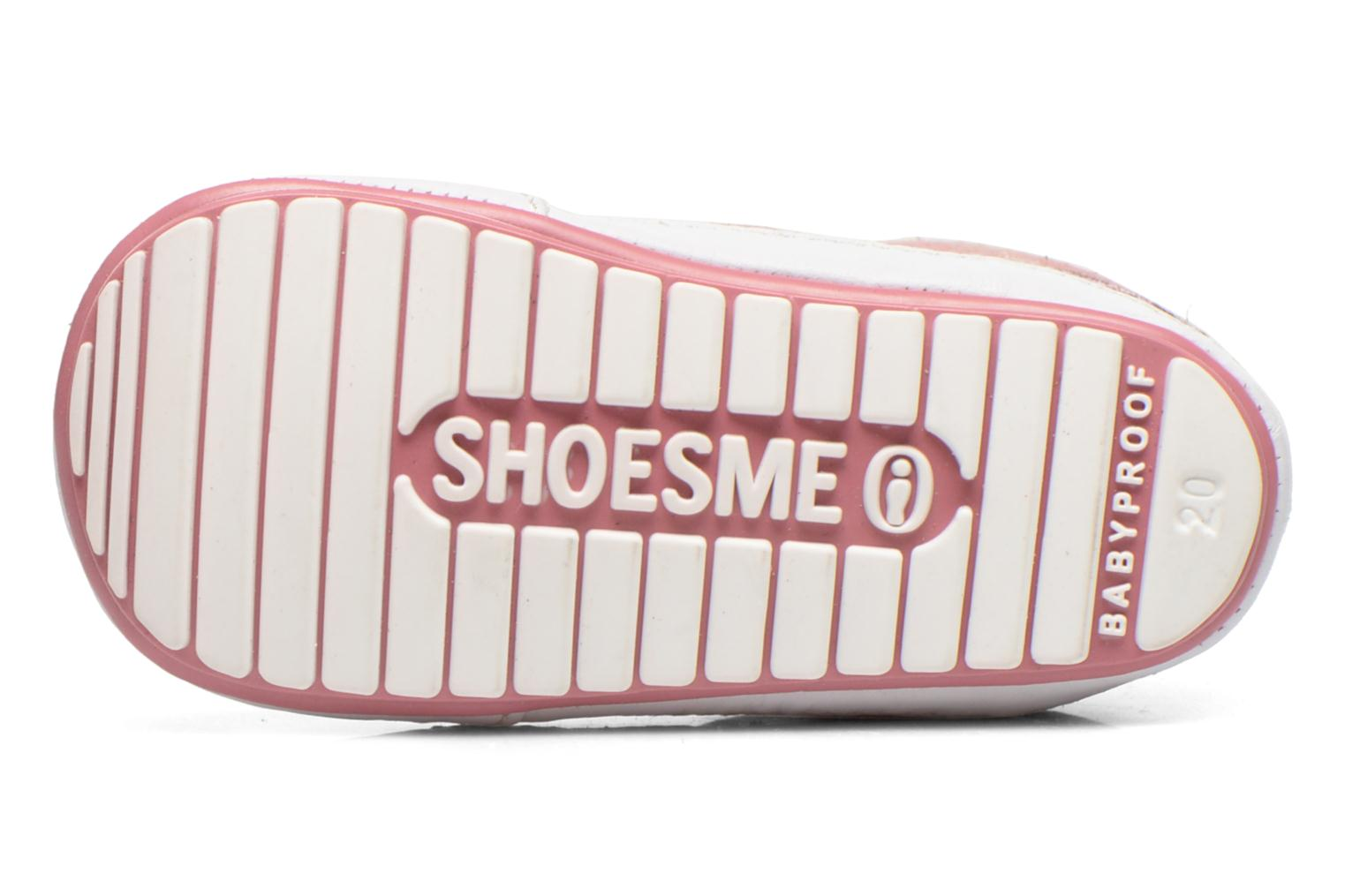 Trainers Shoesme Silvia Pink view from above