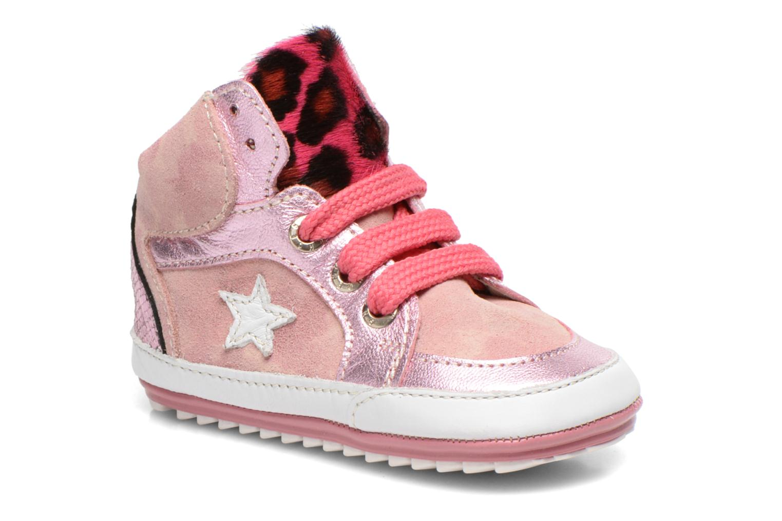 Trainers Shoesme Silvia Pink detailed view/ Pair view