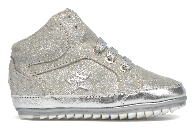 Sneaker Shoesme Silvia silber ansicht von hinten