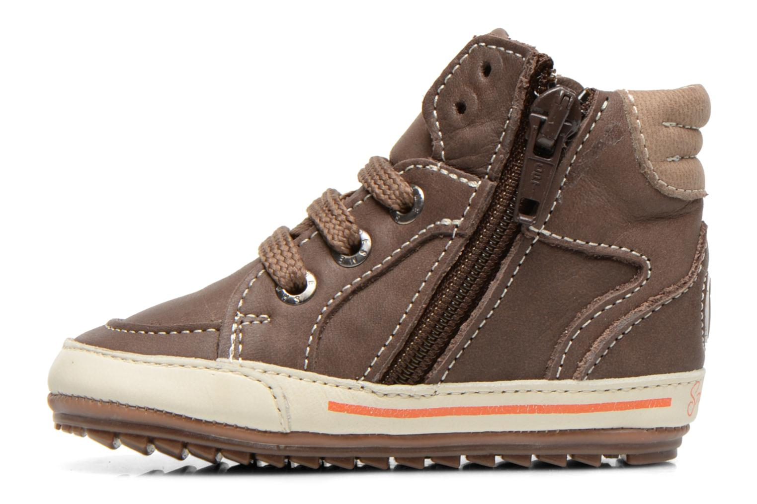 Baskets Shoesme Spencer Marron vue face