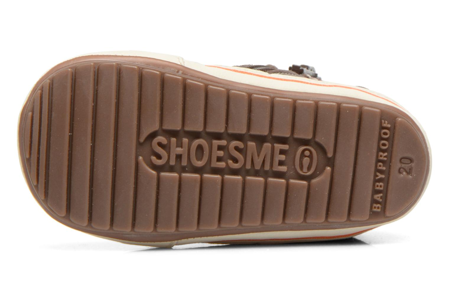 Baskets Shoesme Spencer Marron vue haut
