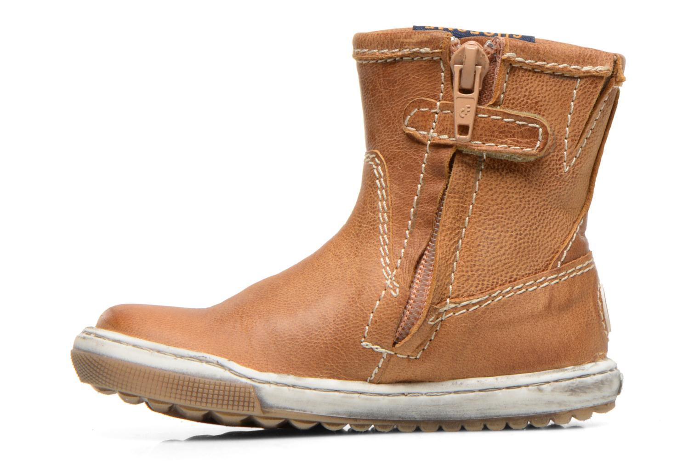 Boots en enkellaarsjes Shoesme Sonny Bruin voorkant