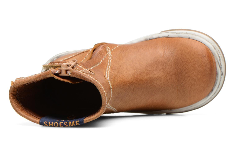 Botines  Shoesme Sonny Marrón vista lateral izquierda