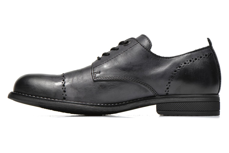 Chaussures à lacets Kickers MARLO Noir vue face