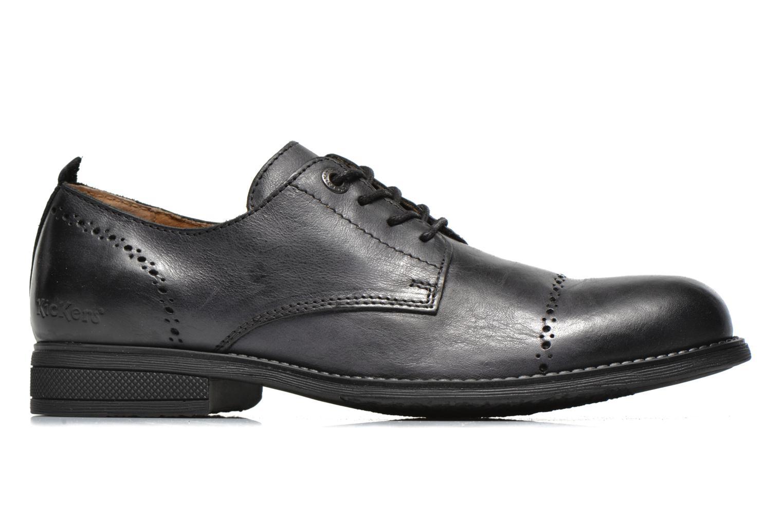 Zapatos con cordones Kickers MARLO Negro vistra trasera