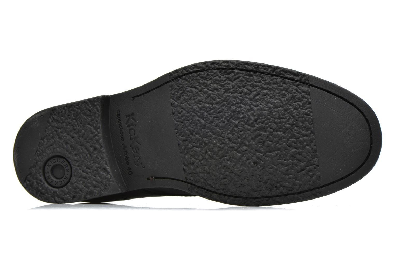 Zapatos con cordones Kickers MARLO Negro vista de arriba