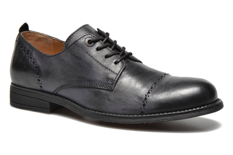 Chaussures à lacets Kickers MARLO Noir vue détail/paire