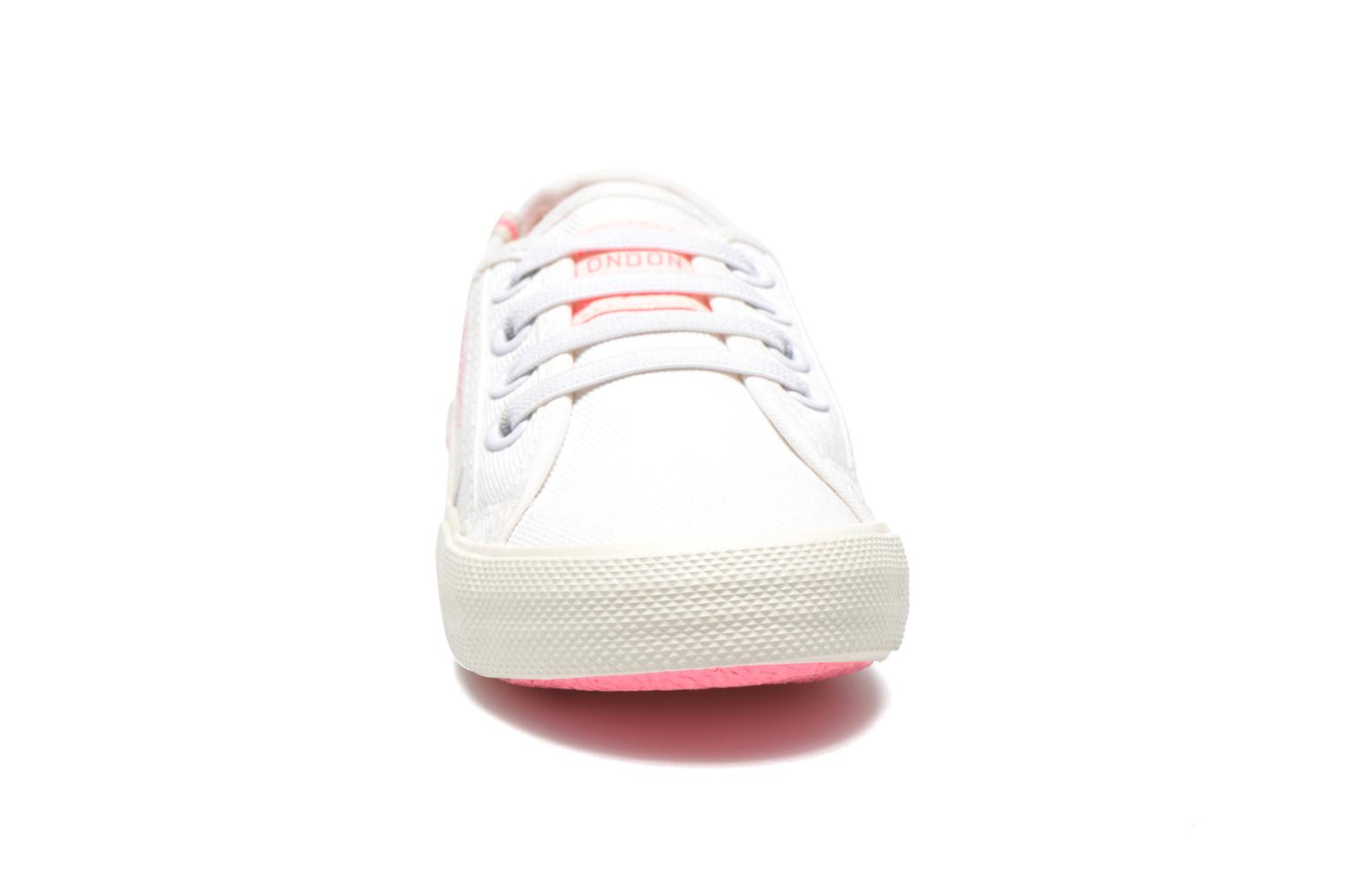 Trainers Pepe jeans Baker K White model view