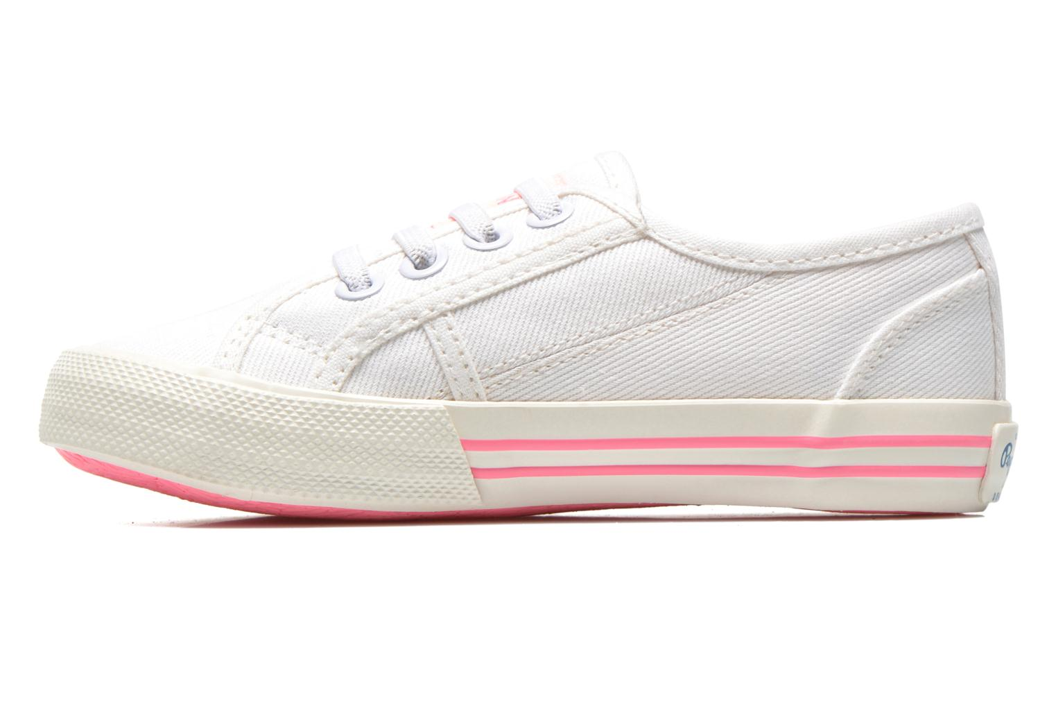 Trainers Pepe jeans Baker K White front view