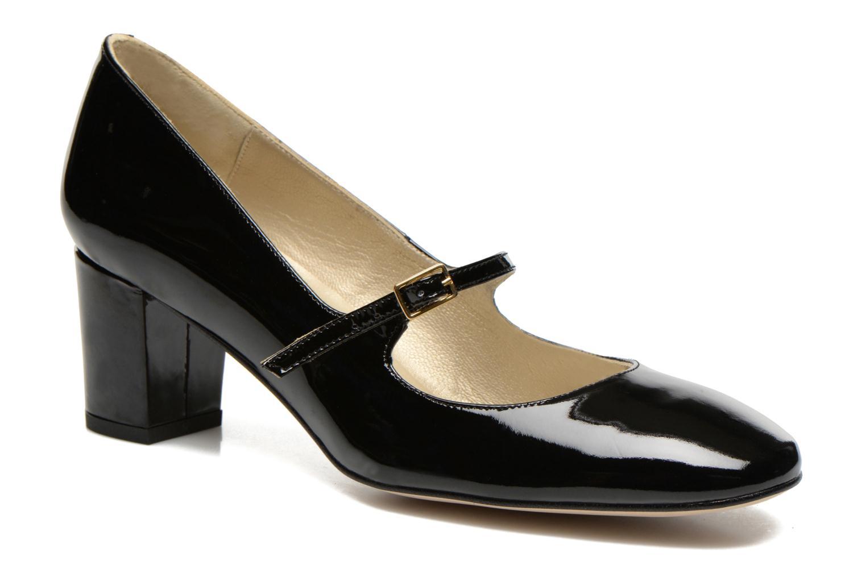 Høje hæle Georgia Rose Tex new Sort detaljeret billede af skoene
