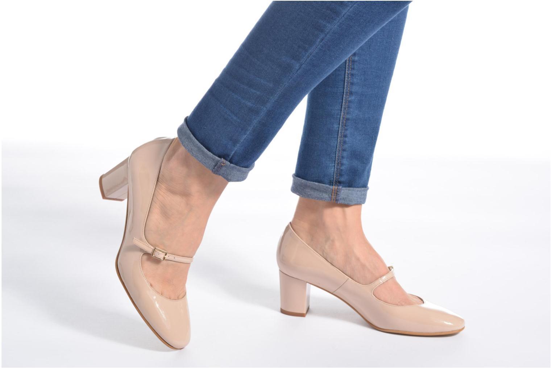 Zapatos de tacón Georgia Rose Tex new Azul vista de abajo