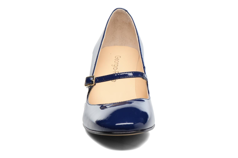 Escarpins Georgia Rose Tex new Bleu vue portées chaussures