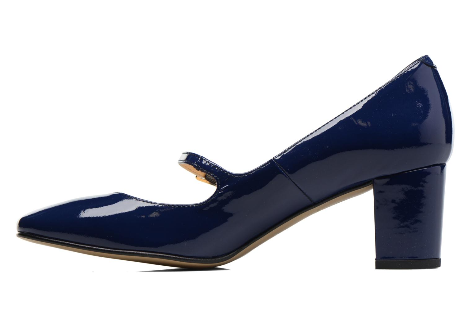 High heels Georgia Rose Tex new Blue front view