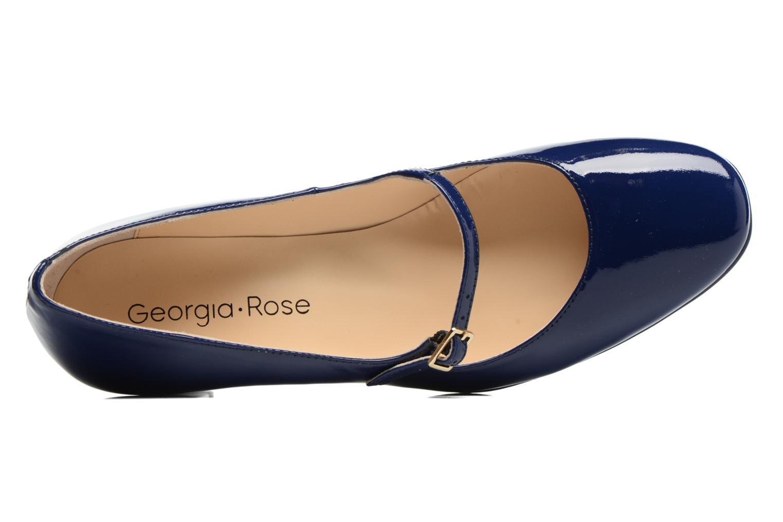 Escarpins Georgia Rose Tex new Bleu vue gauche