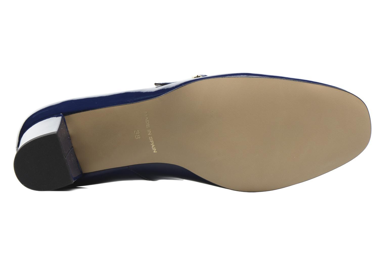 Zapatos de tacón Georgia Rose Tex new Azul vista de arriba