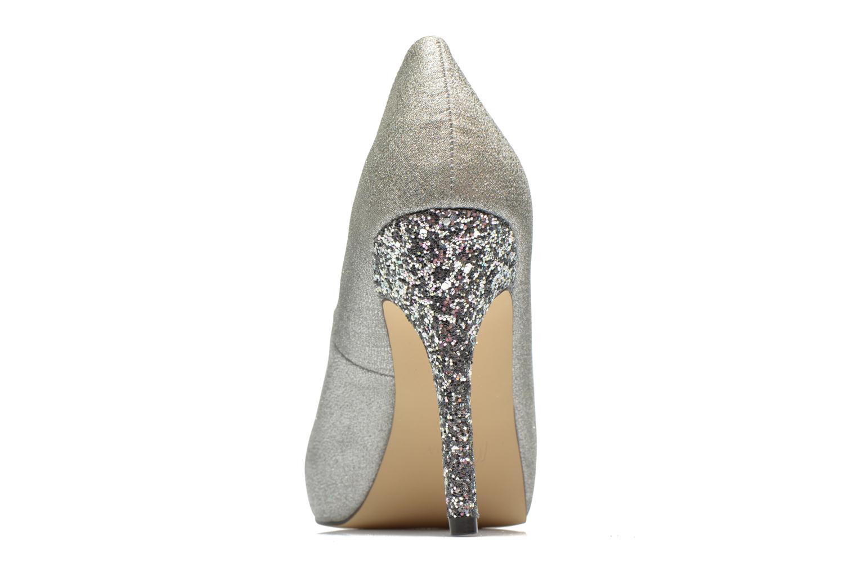 Zapatos de tacón Menbur Bailen Plateado vista lateral derecha
