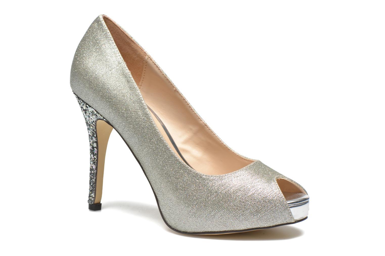 Zapatos de tacón Menbur Bailen Plateado vista de detalle / par