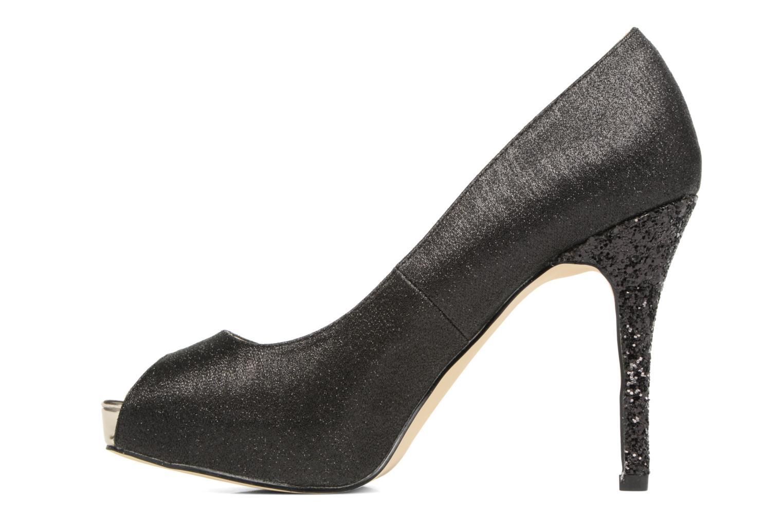 High heels Menbur Bailen Black front view