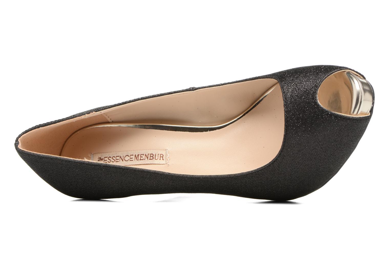 High heels Menbur Bailen Black view from the left