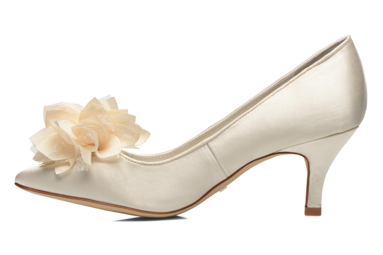 Zapatos de tacón Menbur Yves Blanco vista de frente