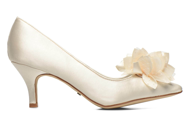 High heels Menbur Yves White back view