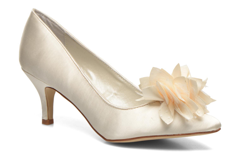 High heels Menbur Yves White detailed view/ Pair view