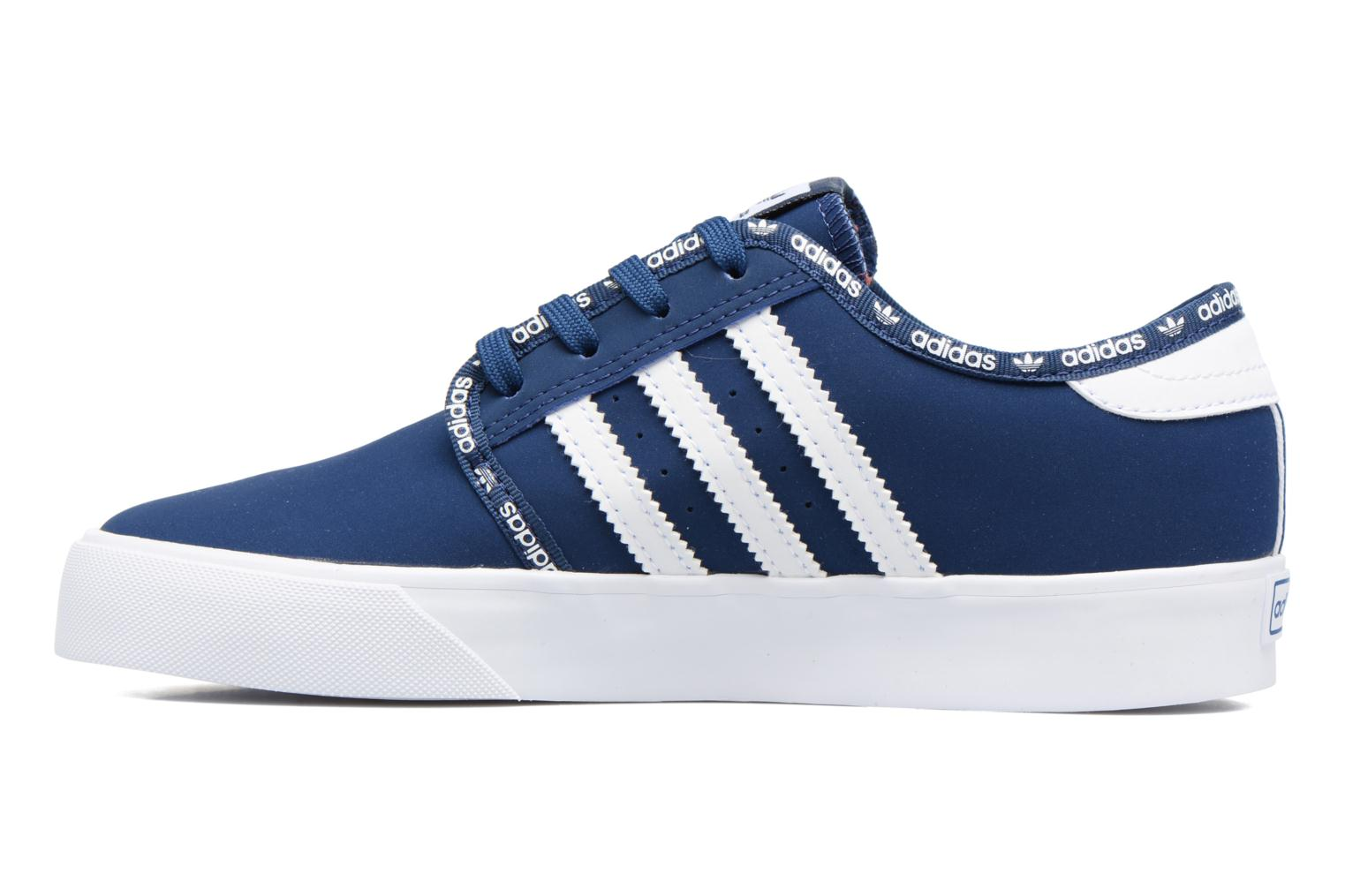 Baskets Adidas Originals Seeley J Bleu vue face