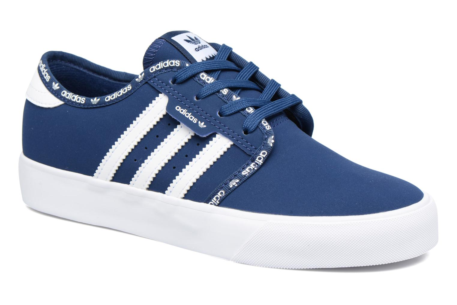 Baskets Adidas Originals Seeley J Bleu vue détail/paire