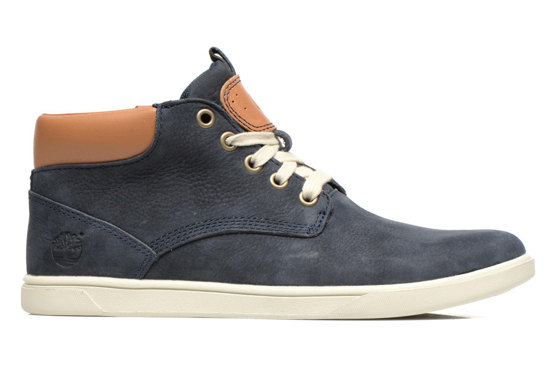 Sneaker Timberland Groveton Leather Chukka blau ansicht von hinten