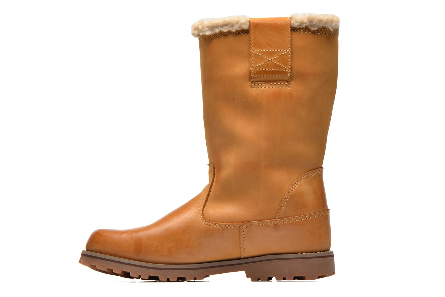 Boots & wellies Timberland Asphtrl 8Inwp Shrl W Beige front view