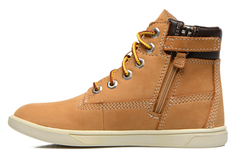 Boots en enkellaarsjes Timberland Groveton 6In Lace with si Beige voorkant