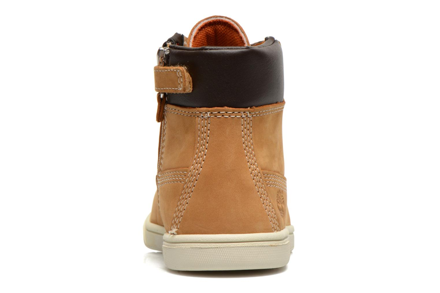 Botines  Timberland Groveton 6In Lace with si Beige vista lateral derecha