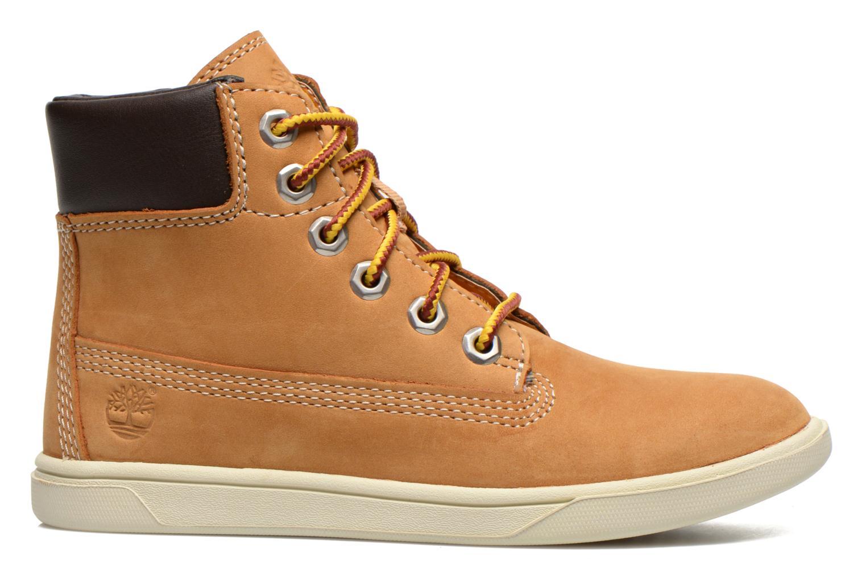 Boots en enkellaarsjes Timberland Groveton 6In Lace with si Beige achterkant