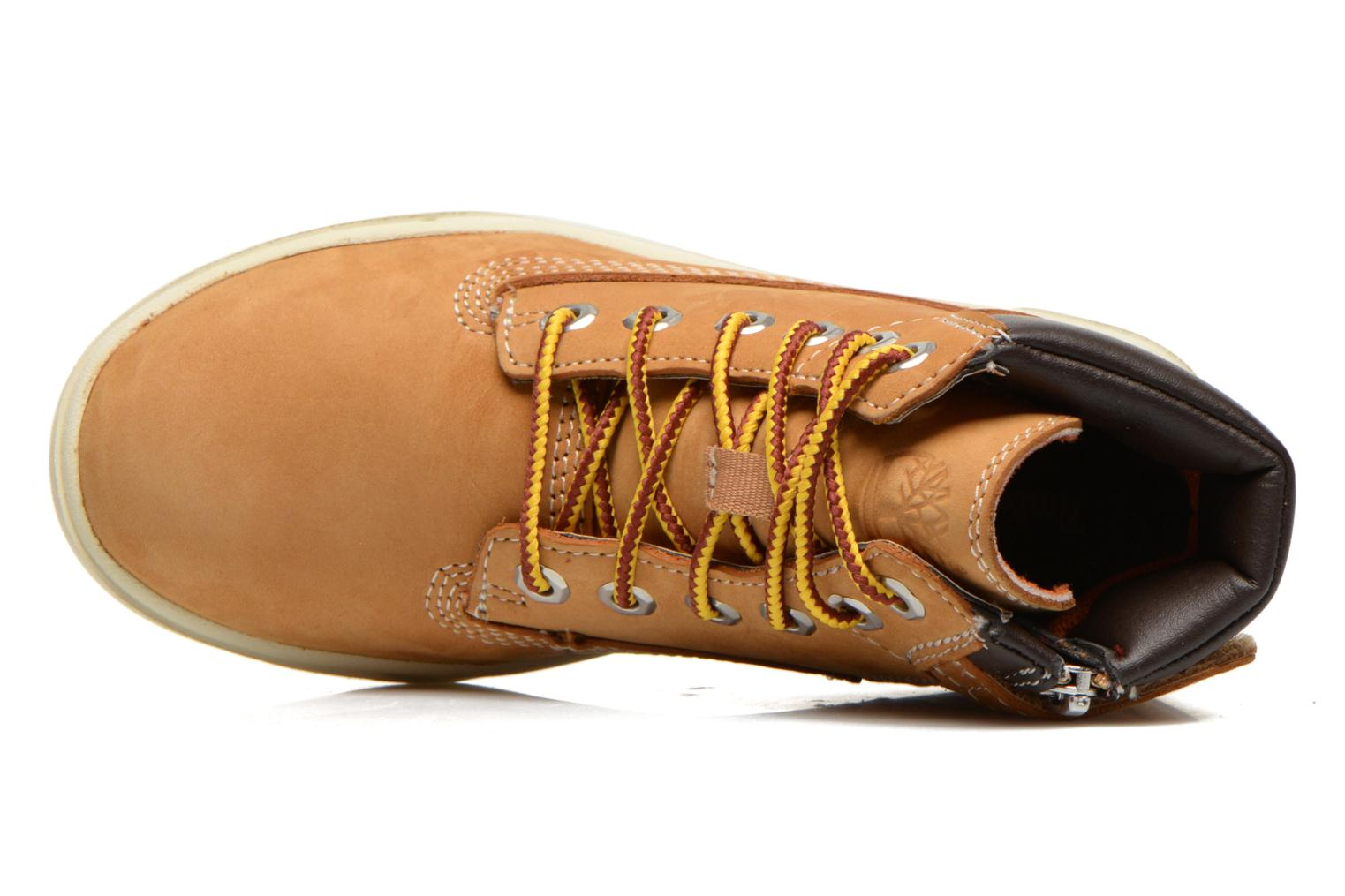 Botines  Timberland Groveton 6In Lace with si Beige vista lateral izquierda