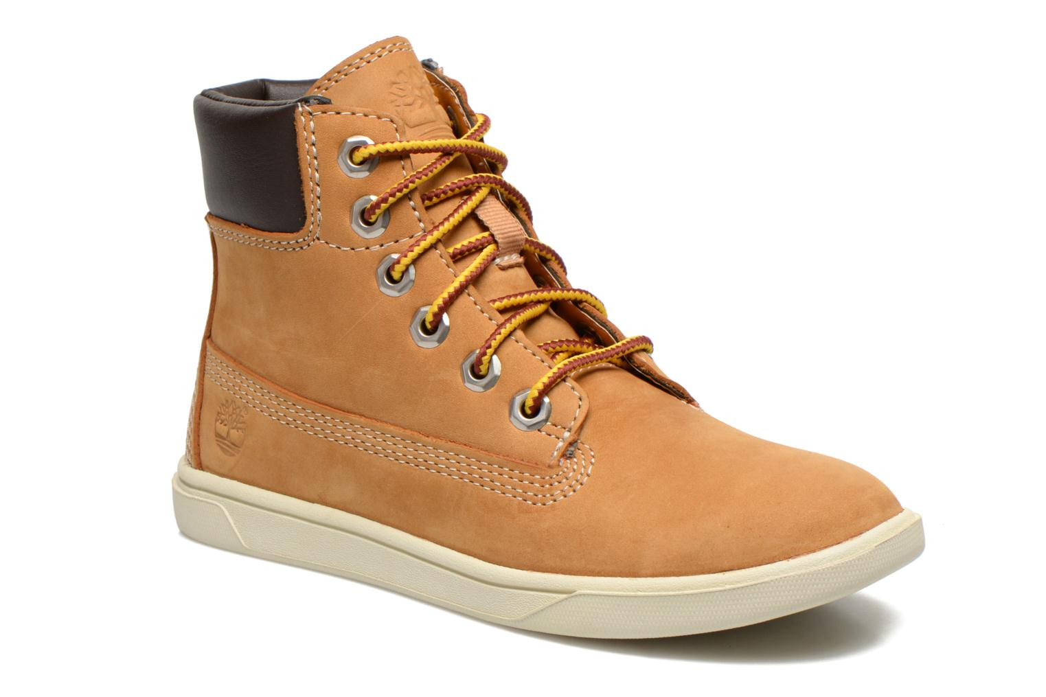 Bottines et boots Timberland Groveton 6In Lace with si Beige vue détail/paire