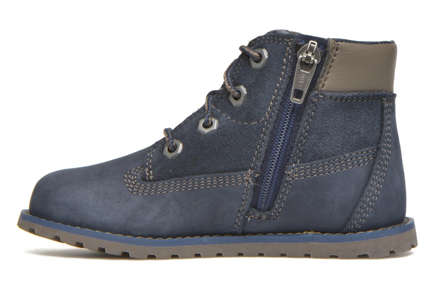 Bottines et boots Timberland Pokey Pine 6In Boot with Bleu vue face
