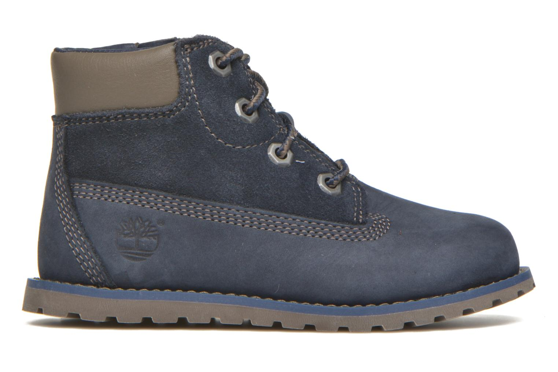 Botines  Timberland Pokey Pine 6In Boot with Azul vistra trasera