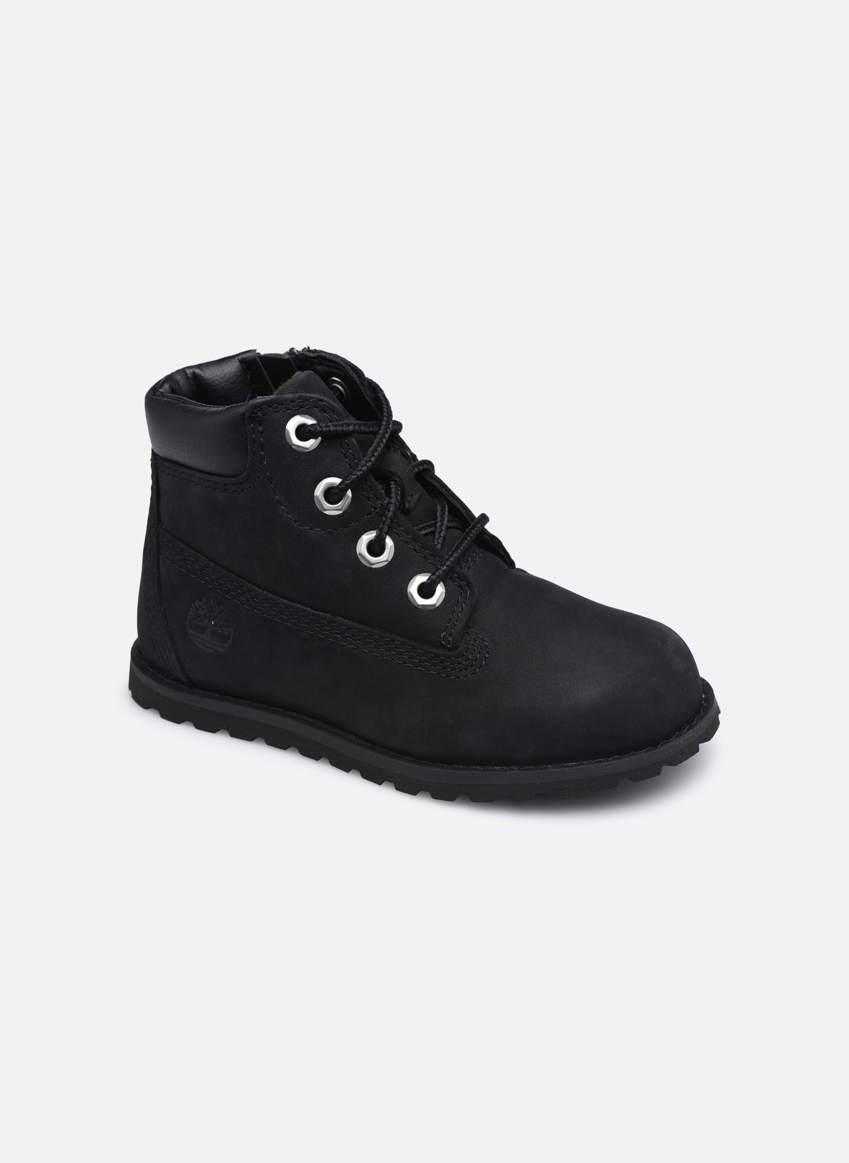 Bottines et boots Timberland Pokey Pine 6In Boot with Noir vue détail/paire