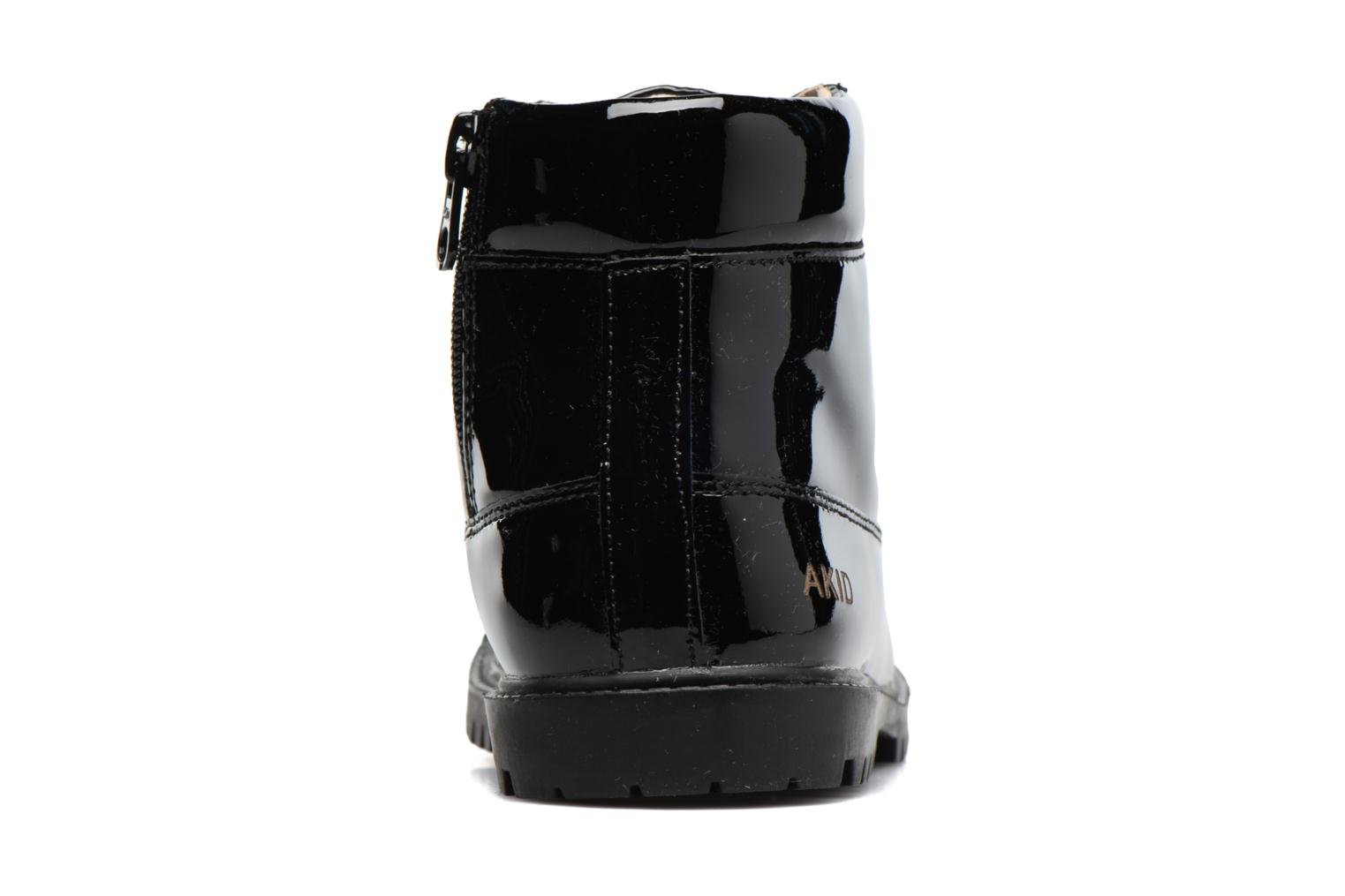 Ankle boots Akid Atticus Black view from the right