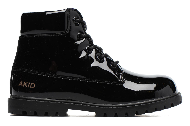 Bottines et boots Akid Atticus Noir vue derrière