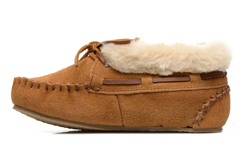 Stiefeletten & Boots Minnetonka Charley beige ansicht von vorne
