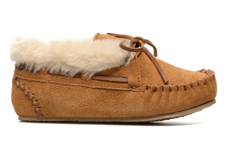 Stiefeletten & Boots Minnetonka Charley beige ansicht von hinten