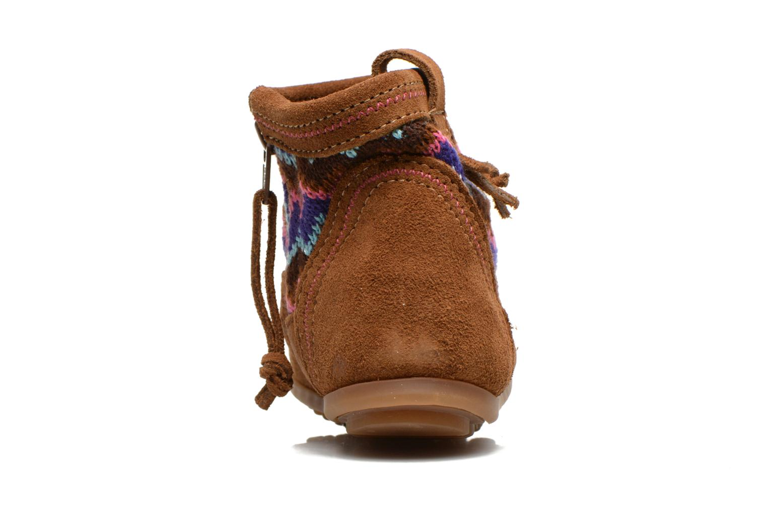 Ankle boots Minnetonka Aspen Boot Brown view from the right